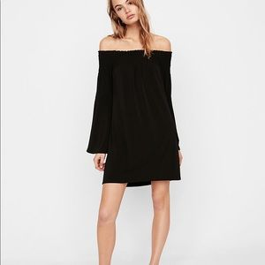 Express smocked shift dress (S)
